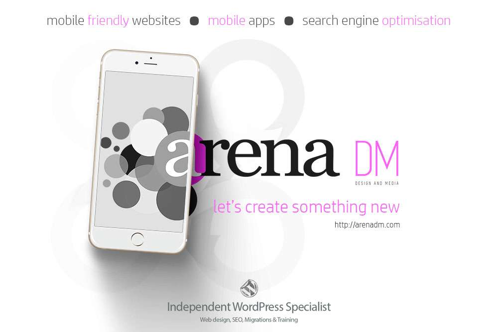 Web design and SEO by Arena DM