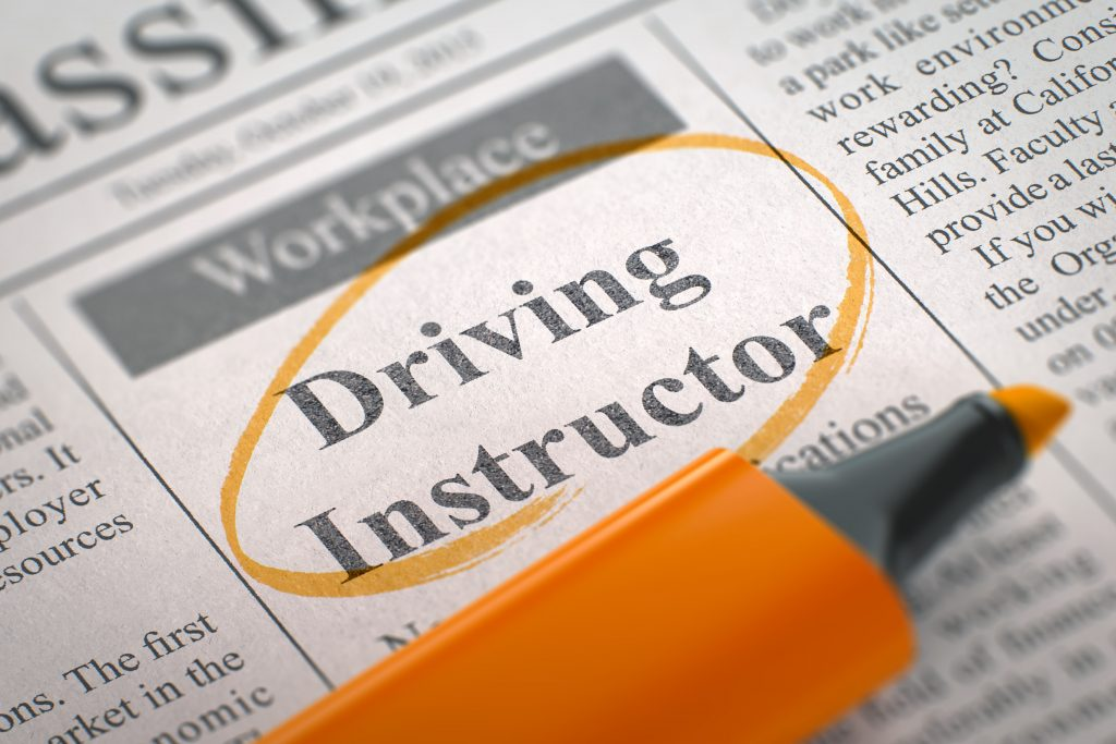 driving instructor training