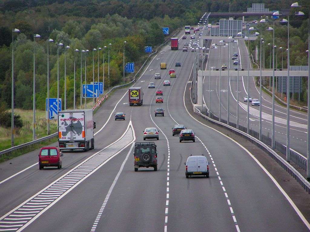 Motorway driving training
