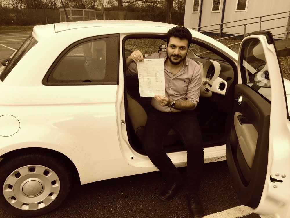 first time pass, driving lessons